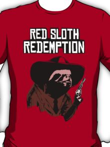 Red Dead Redemption Sloth T-Shirt