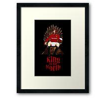Game of Thrones: King Eric Cantona Framed Print