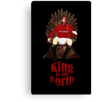 Game of Thrones: King Eric Cantona Canvas Print