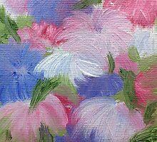 Pink and Purple Puffs by KeLu