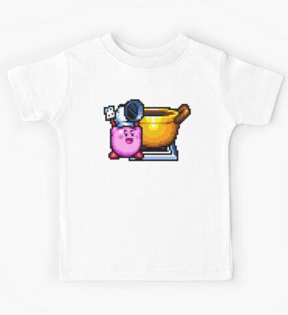 Chef Kirby with Cookpot Kids Tee