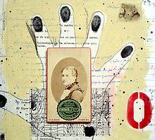 RETRATO Y DESTINO EN MANO (portrait and destiny in hand) by Alvaro Sánchez