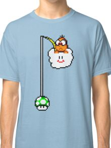 Fishing Lakitu (Black Lines) Classic T-Shirt