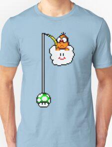 Fishing Lakitu (Black Lines) T-Shirt