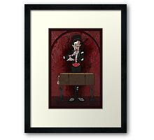 The Four Humours: Blood Framed Print