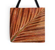 Abstract Canna Leaf Tote Bag