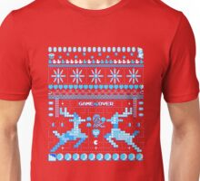 Game Over - 8-bit Ugly Christmas Sweater Unisex T-Shirt