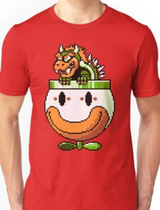 Bowser and Clown Copter Unisex T-Shirt