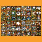 Yoshi's Island Level Icons by Funkymunkey