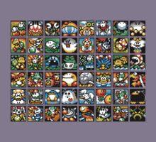 Yoshi's Island Level Icons Kids Clothes