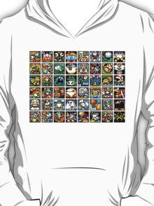 Yoshi's Island Level Icons T-Shirt