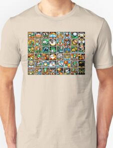 Yoshi's Island Level Icons T-Shirt