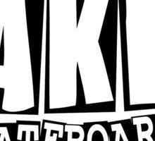Baker Skateboard Classic Sticker
