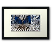 Blues Is A Slippery Slope plus One Framed Print