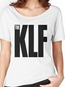 The KLF Logo (Black) Women's Relaxed Fit T-Shirt