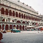 Padua Square Padua Italy 198404170018m  by Fred Mitchell