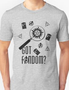 Multifandom - Black T-Shirt