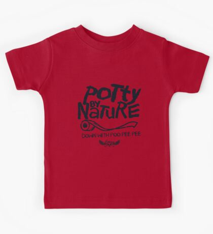 Potty By Nature Kids Tee