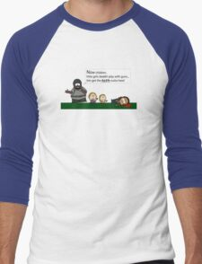 Walking Dead into South Park Men's Baseball ¾ T-Shirt