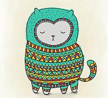 cozy cat by Dinara May