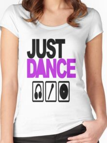 Just dance Women's Fitted Scoop T-Shirt
