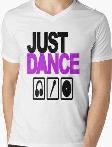 Just dance Mens V-Neck T-Shirt