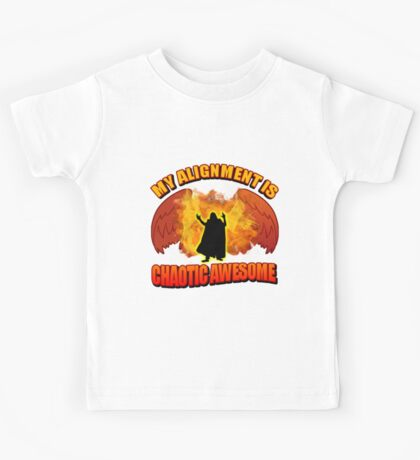 Chaotic Awesome Kids Tee