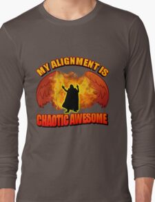 Chaotic Awesome Long Sleeve T-Shirt