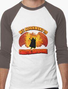 Chaotic Awesome Men's Baseball ¾ T-Shirt