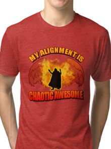 Chaotic Awesome Tri-blend T-Shirt