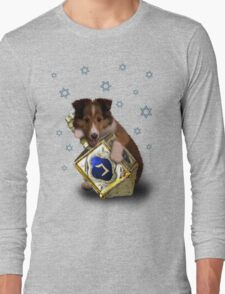 Hanukkah Sheltie Long Sleeve T-Shirt