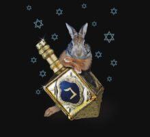 Hanukkah Bunny Rabbit Kids Clothes