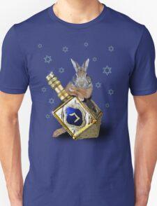Hanukkah Bunny Rabbit Unisex T-Shirt