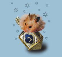 Hanukkah Hamster One Piece - Short Sleeve