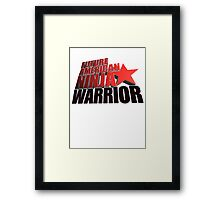 FUTURE American Ninja Warrior Framed Print