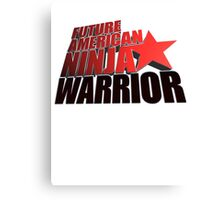 FUTURE American Ninja Warrior Canvas Print