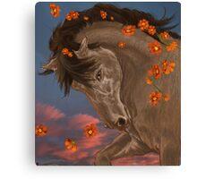 Flaring Flowers Canvas Print