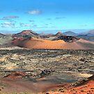 Volcanic scenery - Timanfaya National Park, Lanzarote by Nick Barker
