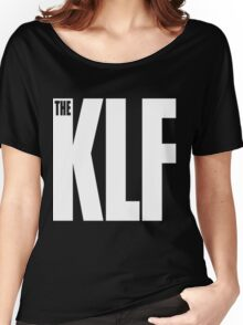 The KLF Logo (White) Women's Relaxed Fit T-Shirt