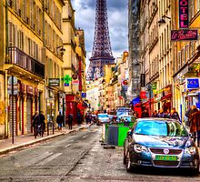 Paris Street by marcoslins