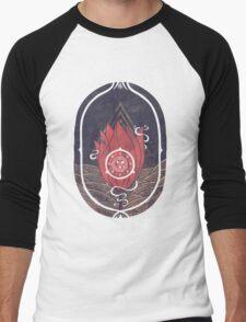 Pulsatilla Patens Men's Baseball ¾ T-Shirt