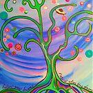 Magical alien tree by jonkania