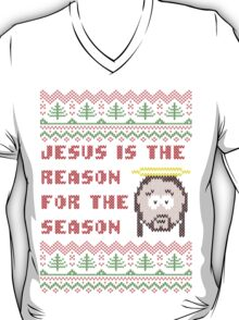 Jesus is The Reason for The Season Ugly Christmas Sweater T-Shirt