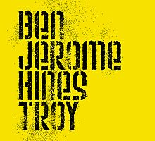 Ben Jerome Hines Troy / Gold by walker12to88