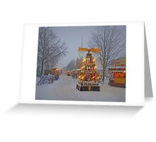 ChristKindl Market Greeting Card