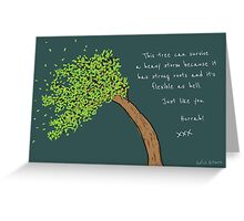 Heavy Storm Greeting Card