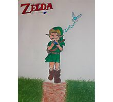 Link with Ocarina Photographic Print