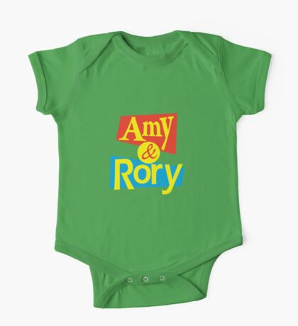 Amy & Rory One Piece - Short Sleeve