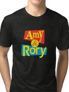 Amy & Rory Tri-blend T-Shirt