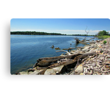 Shores of Kettle Lake Canvas Print